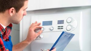 Service your boiler on an annual basis